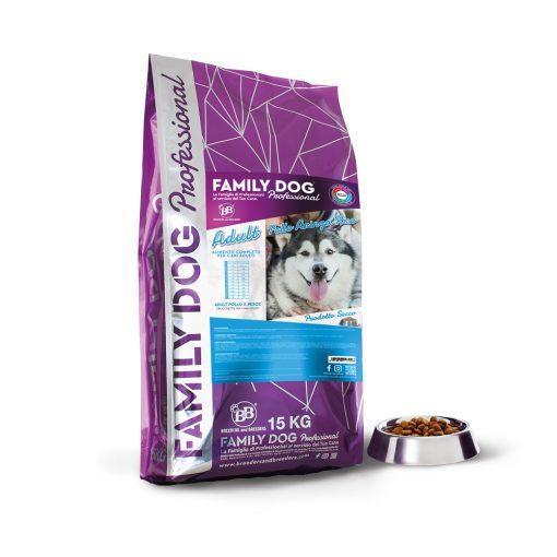 Alimento completo crocchette cibo secco per cani adulti in attivit? a base di Pollo Aringa e Riso