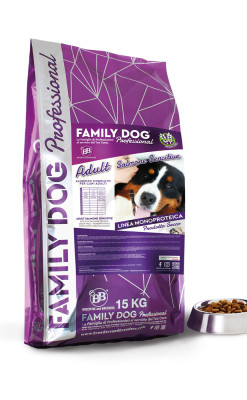Alimento completo crocchette cibo secco per cani adulti ricco in Salmone fresco, Grain free, monoproteico