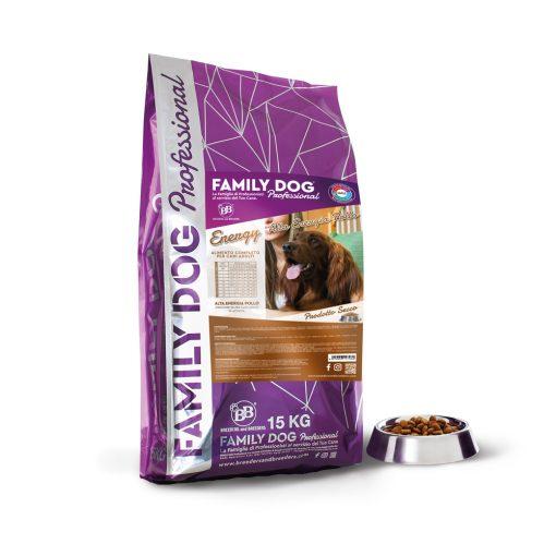 Alimento completo crocchette cibo secco Energy alta energia per cani adulti in attivit? a base di Pollo