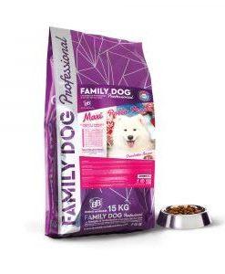 Alimento completo crocchette cibo secco per cani adulti in attivit? Maxi Pollo Pesce